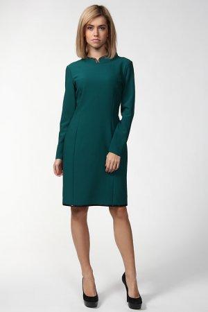 Платье Alkis. Цвет: зеленый