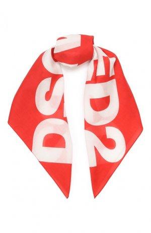 Бандана Dsquared2. Цвет: красный