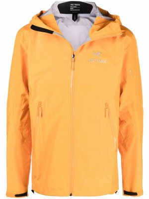 Arcteryx легкая куртка Beta Arc'teryx. Цвет: оранжевый