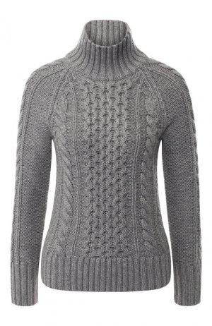 Кашемировый пуловер Burberry. Цвет: серый