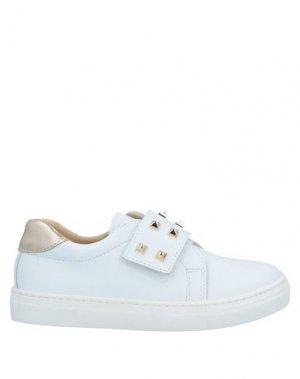 Низкие кеды и кроссовки CLARYS. Цвет: белый