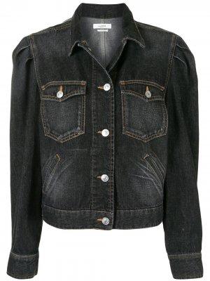 Джинсовая куртка Bolinea с объемными плечами Isabel Marant Étoile. Цвет: синий