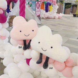 Декоративная подушка в форме облака 1шт SHEIN. Цвет: многоцветный