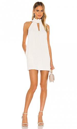 Мини платье talita Amanda Uprichard. Цвет: белый