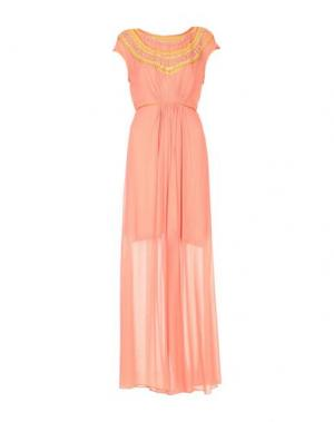 Платье длиной 3/4 BLANK. Цвет: лососево-розовый