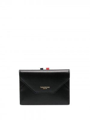 Компактный кошелек с полосками RWB Thom Browne. Цвет: черный