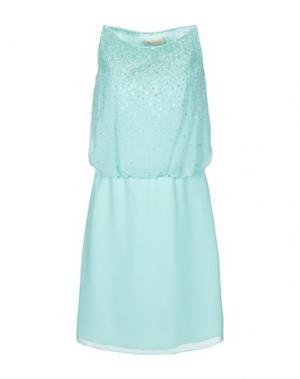 Короткое платье CARLO PIGNATELLI. Цвет: светло-зеленый