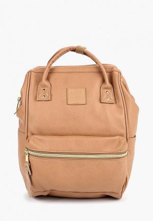 Рюкзак Anello SMALL 10L. Цвет: бежевый