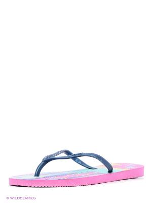 Шлепанцы DUPE. Цвет: розовый