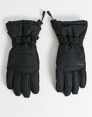 Черные перчатки Limit-Черный Surfanic