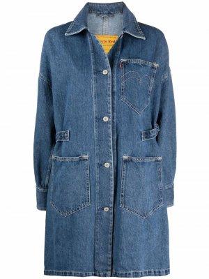 Levis джинсовая куртка Linemore Chore Levi's. Цвет: синий