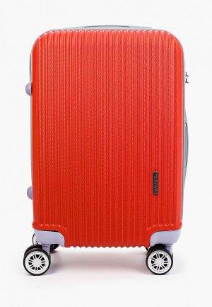 Чемодан Polar Cabin size. Цвет: красный