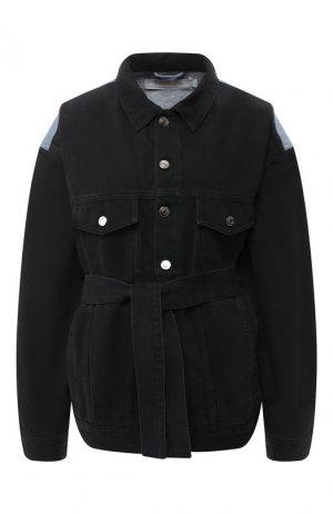 Джинсовая куртка Iro. Цвет: разноцветный
