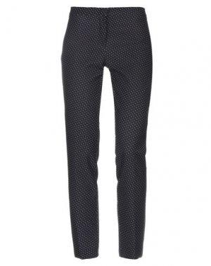 Повседневные брюки DANIELA DREI. Цвет: черный