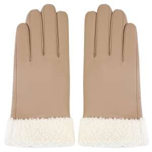 Перчатки Ekonika EN33071-amphora-white-21Z. Цвет: бежевый/белый