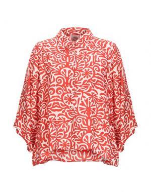 Pубашка ATTIC AND BARN. Цвет: красный