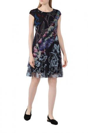 Платье Desigual. Цвет: комбинированный