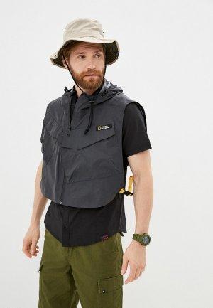 Жилет National Geographic URBAN TECH jacket. Цвет: черный