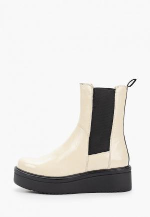 Ботинки Vagabond TARA. Цвет: бежевый