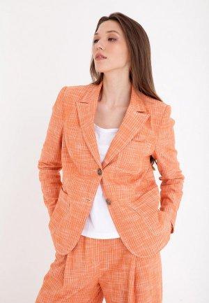 Жакет Gregory. Цвет: оранжевый