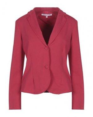 Пиджак EUROPEAN CULTURE. Цвет: красный