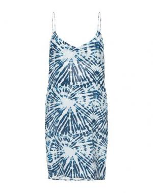 Короткое платье MIKOH. Цвет: синий