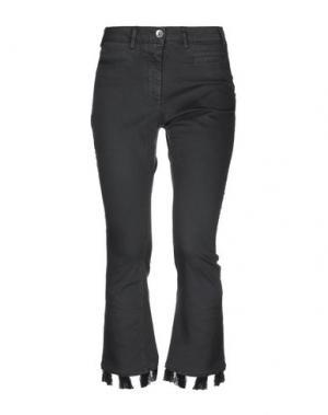 Джинсовые брюки-капри RAME. Цвет: черный
