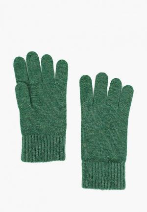 Перчатки United Colors of Benetton. Цвет: зеленый