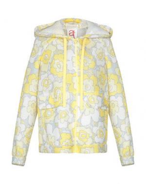 Куртка ANDREA TURCHI. Цвет: желтый