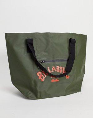 Большая сумка-тоут зеленого цвета Beach All Day-Зеленый Billabong