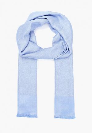 Палантин Zarina. Цвет: голубой