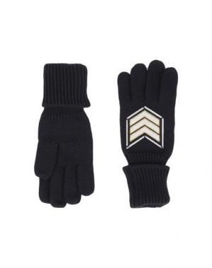 Перчатки Y-3. Цвет: черный