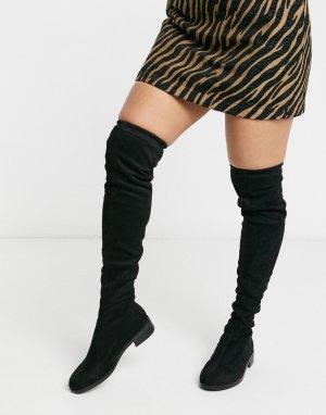 Ботфорты -Черный Vero Moda