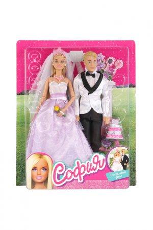 Набор кукол: София и Алекс Карапуз. Цвет: белый