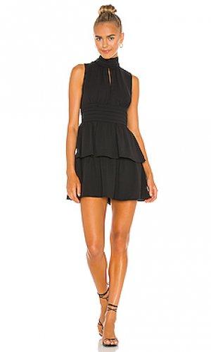 Мини платье samira Amanda Uprichard. Цвет: черный