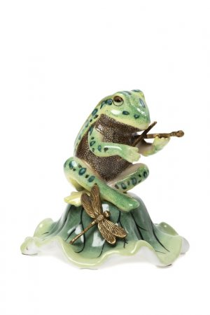 Фигурка Лягушка ГЛАСАР. Цвет: зеленый