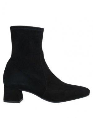 Полусапоги и высокие ботинки PAS DE ROUGE. Цвет: черный