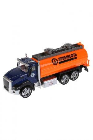 Машина металлическая Бензовоз Технопарк. Цвет: оранжевый
