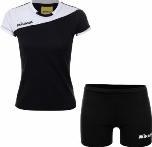 Комплект волейбольной формы женский MIKASA Moach, размер 42. Цвет: черный