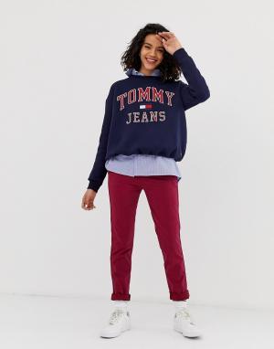 Брюки чинос -Красный Tommy Jeans