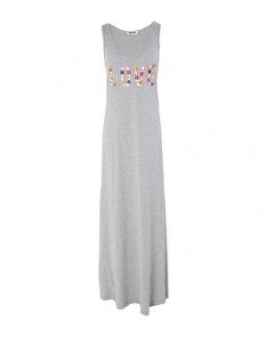 Длинное платье SHOP ★ ART. Цвет: серый