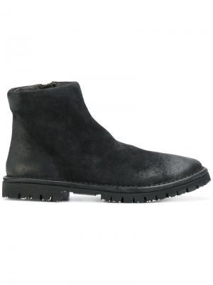 Ботинки-челси на молниях Marsèll. Цвет: черный
