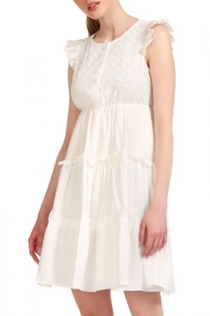 Платье Fornarina. Цвет: белый