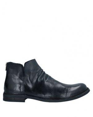 Полусапоги и высокие ботинки OFFICINE CREATIVE ITALIA. Цвет: темно-синий