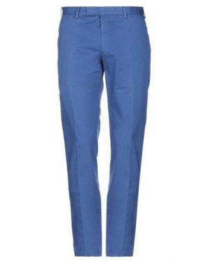 Повседневные брюки LIBERTY London. Цвет: синий