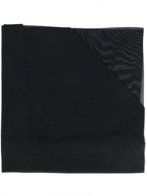 Легкий шарф Fisico. Цвет: черный