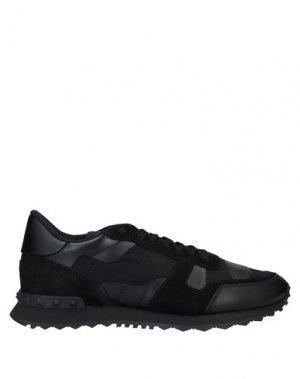 Кеды и кроссовки VALENTINO GARAVANI. Цвет: черный