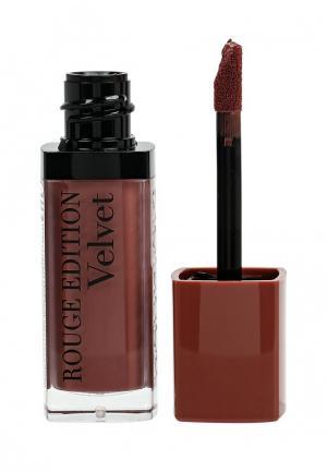 Блеск для губ Bourjois Rouge Edition Velvet, 29 Nude York, 7,7 мл. Цвет: розовый