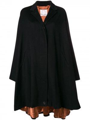 Cashmere oversized coat Romeo Gigli X Eggs. Цвет: черный