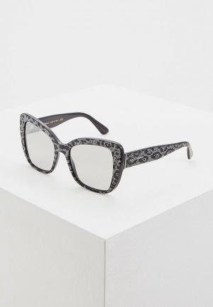 Очки солнцезащитные Dolce&Gabbana DG4348 31986V. Цвет: черный